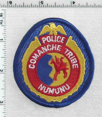 Comanche Tribe Police (Oklahoma) 1st Issue Cap/Hat Patch
