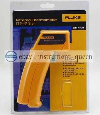 Fluke 59 Mini Handheld Laser Infrared Thermometer Gun New F59
