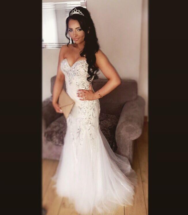 Prom Dress Graduation Ball Gown Fantasia Design By Tiffanys Size 6