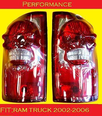 Custom Tail Light Set Dodge Ram Truck 55077348AF/55077347AF