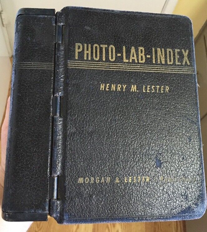 9th Edition Photo-Lab-Index 1947 by Henry M. Lester Morgan & Lester Publishers