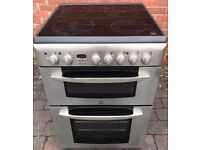 INDESIT 60CM STAINLESS STEEL FREE STANDING 60cm ELECTRIC COOKER FOR SALE, EXCELLENT CONDITION