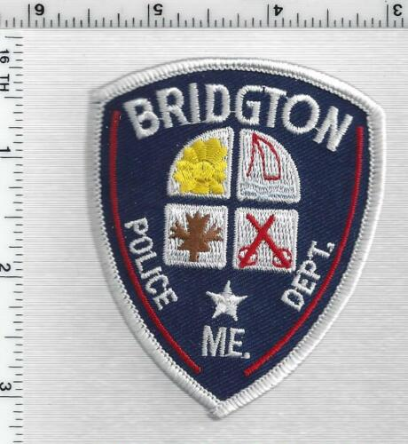 Bridgton Police (Maine) 1st Issue Cap/Hat Patch