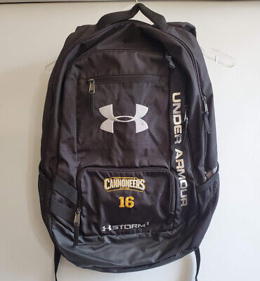 Black Under Armour Storm1 Backpack TEAM INSIGNIA