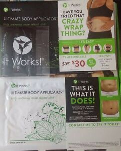 Body wrap and defining gel. I have 5 available.