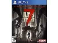 PS4 GAME / 7 DAYS TO DIE / FOR SALE OR SWAPS