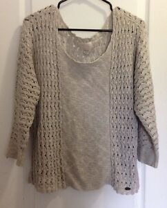 Size Large fitting Quicksilver Knit Sweater