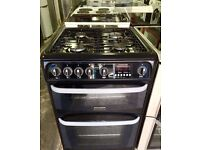 //(^_^)\ CANNON BLACK GAS COOKER INCLUDES 6 Months GUARANTEE