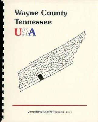 History of Wayne County Tennessee Clifton Waynesville TN 1887 Goodspeed Bios
