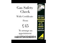 Gas Safe Engineer Plumbing & Heating Handyman Cooker Boiler man CP12 Landlord Safety Certificates