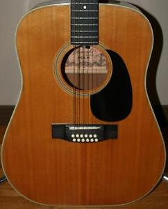 Yamaki Deluxe 12 String Acoustic Guitar