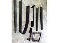 Bmw e46 interior trim panels full set carbon used