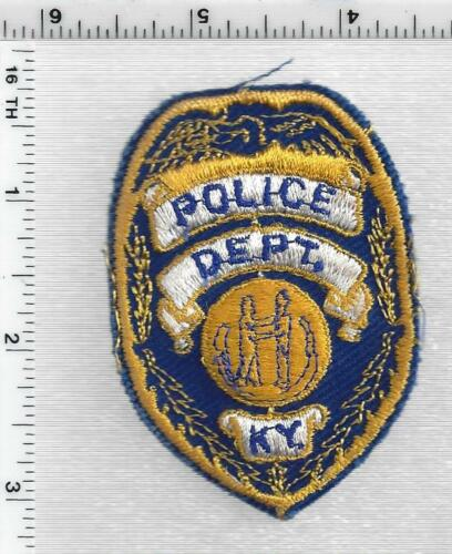 Police Cap Patch (Kentucky) 2nd Issue Generic Patch