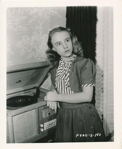 PEGGY ANN GARNER Original Fox CANDID Vintage Production Still Snapshot Photo