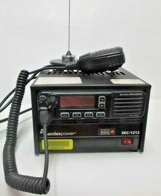 Samlex Power Sec-1212 Power Supply Vertex Standard Radio Evx-5400 W Antenna