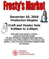 Frosty's Market - LOOKING FOR VENDORS