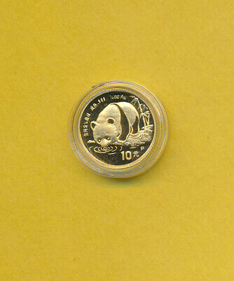 1987-P - PROOF 10 YUAN CHINA GOLD PANDA COIN - BEST PRICE ON EBAY