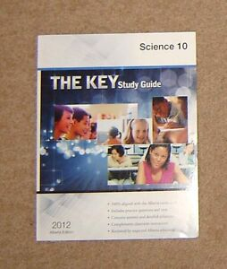 KEY STUDY GUIDE - SCIENCE 10