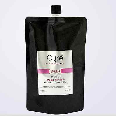 Cure One Step Japanese Magic Hair Straightening Treatment 500g  17.64 oz