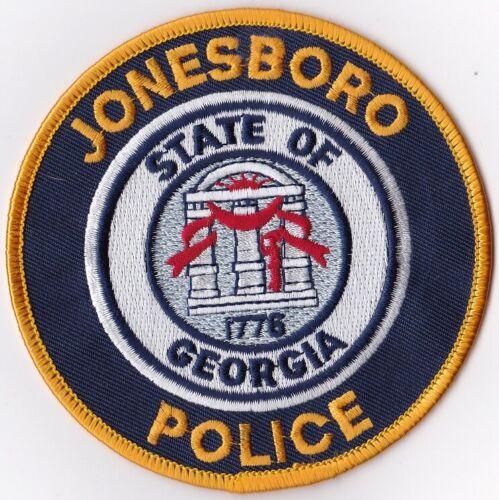 Jonesboro Police Patch Georgia GA