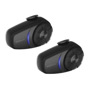 SENA 10S DUAL PACK BLUETOOTH COMMUNICATION HEADSETS IN STOCK NOW