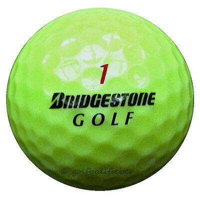 75 Bridgestone e6 Gelb Golfbälle im Netzbeutel AAAA Lakeballs e 6 yellow Golf ()