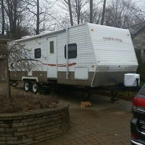 Roulotte 28.5 pied Timberlodge