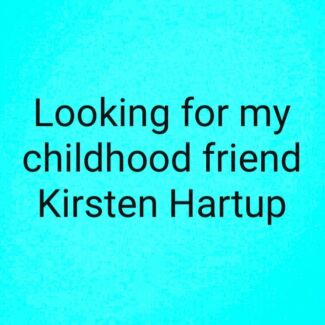 Wanted: Looking for Kirsten