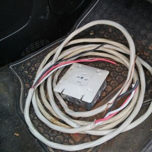 8/3 Electric Wire and Range Plug