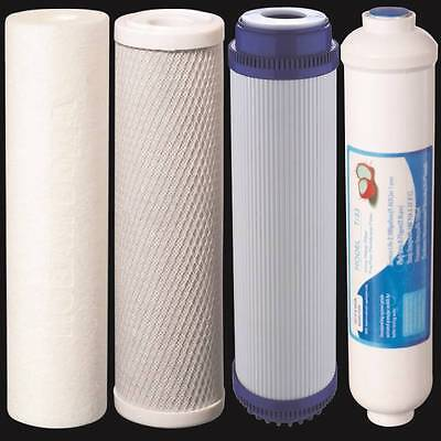 Reverse Osmosis Replacement Water Filters 4 pc ...