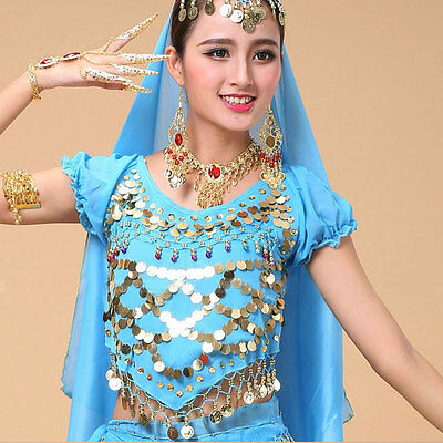 C91621 Bauchtanz Kostüm BH Oberteil Belly Dance Top
