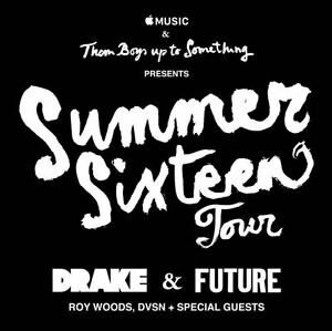 Drake and Future Summer sixteen tour