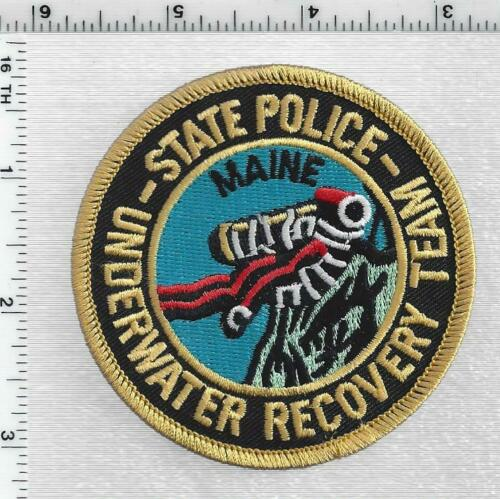 State Police Underwater Recovery Team (Maine) 1st Issue Shoulder Patch