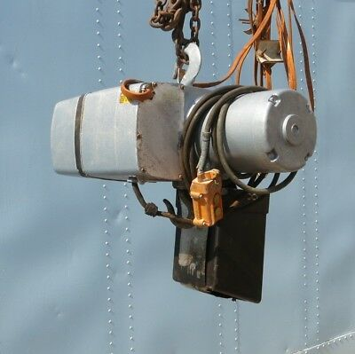 12 Ton Yale Electric Chain Hoist Good Cheap Baltimore Maryland
