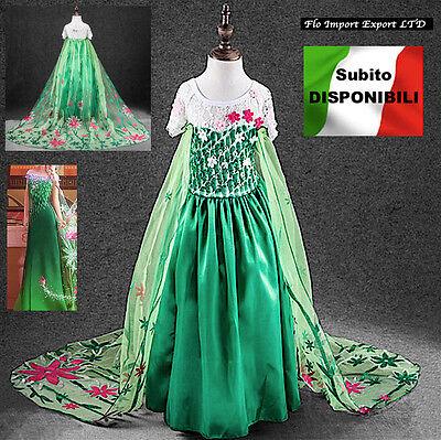 Frozen Fever- Vestiti Carnevale Elsa Dress up Costumes Frozen Fever 789021
