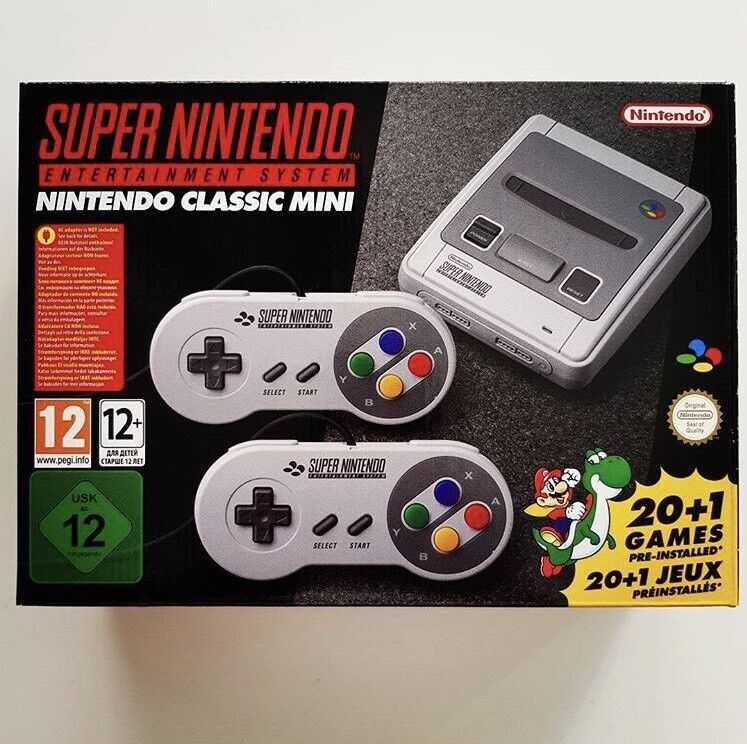 Super Nintendo SNES CLASSIC MINI * Brand New & Sealed *