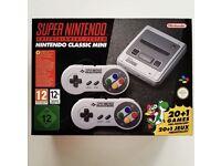 Super Nintendo SNES CLASSIC MINI ** Brand New with Receipt **