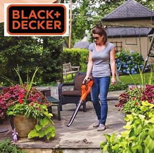 NEW BLACK  DECKER 20V SWEEPER 20V Max Lithium POWERCOMMAND Power Boost Sweeper BLOWER 112386175