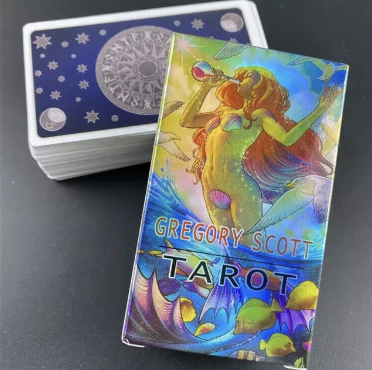 Gregory Scott Tarot of Deck Games Oracle 78 Cards Magic Fate Divination English.