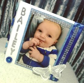 Personalised Frames, Photo Albums & Postboxes.