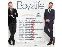 Boyzlife Tickets x 2. £20 each OVNO. Brian McFadden & Keith Duffy Hilton Metropole Birmingham.