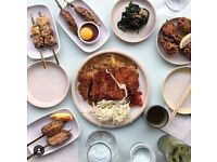 Chef needed for Japanese restaurant in Dalston