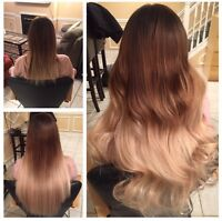 TAPE IN AND FUSION HAIR EXTENSIONS FROM $300