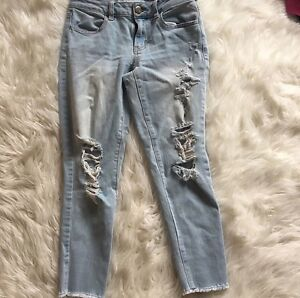 Various American Eagle and Hollister Jeans