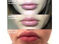 Lip plumping with no injections