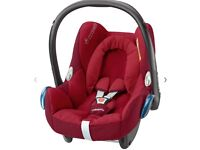Maxicosi cabriofix group 0 baby car seat with brand new replacement cover