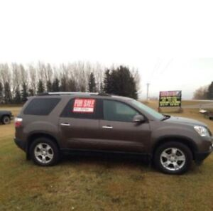2012 Acadia SLE 2 3rd row PRICE REDUCED!!!