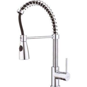 New Kraus Single Handle Pull Down Faucet With Soap Dispenser