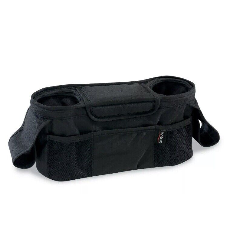 New Britax Black Stroller Organizer Bag. Collapsible. Free Shipping!