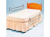 Extra High Chrome Bed Rails